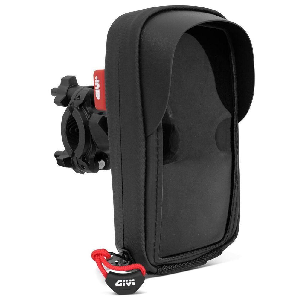 Suporte para Celular Givi S955B p/ Smartphone / Iphone 5  - Nova Centro Boutique Roupas para Motociclistas