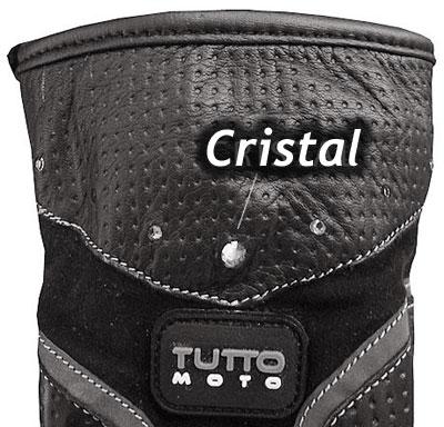 Luva Tutto Moto Cristal Ladies (Só XS/PP)  - Nova Suzuki Motos e Acessórios