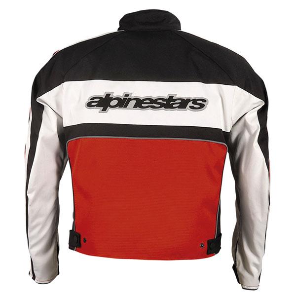 Jaqueta Alpinestars Stella T-Dyno Vermelha 100% Impermeável  - Nova Suzuki Motos e Acessórios