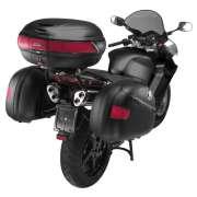 Ba� lateral Givi e41 Keyless Preto (Par) - Pronta Entrega  - Nova Suzuki Motos e Acess�rios