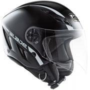 Capacete AGV Blade Mono Black (Brilhante) - Só 58