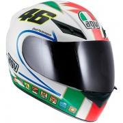 Capacete AGV K-3 Icon Valentino Rossi
