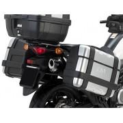 Suporte Lateral PL3101 para baú Givi 21/41/e360/trekker - V-Strom 650 2014 - Pronta entrega