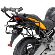 Suporte p/ baú lateral Givi PLR450 (Baús E21 e E22/E41/E360/TREKKER) para Kawasaki - Versys 650 10/11 (Necessita 451FZ ou  450KIT)