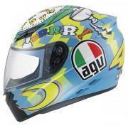Capacete AGV K-3 Wake-Up Réplica Oficial Valentino Rossi