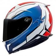 Capacete Nexx XR2 Vortex Azul - Tri-Composto - Ganhe Viseira Fumê e Pinlock
