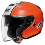 Capacete Shoei J-Cruise Corso Aberto Orange/Black - NOVO!