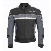 Jaqueta Tutto Moto Veloce Cinza 100% Impermeável (Sugestão de Kit)
