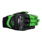 Luva Alpinestars SMX-2 Air Carbon Green/Black