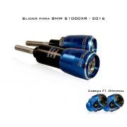 Slider Dianteiro Procton com Amortecimento p/ BMW S1000XR (15/17) - (ROLETADO)