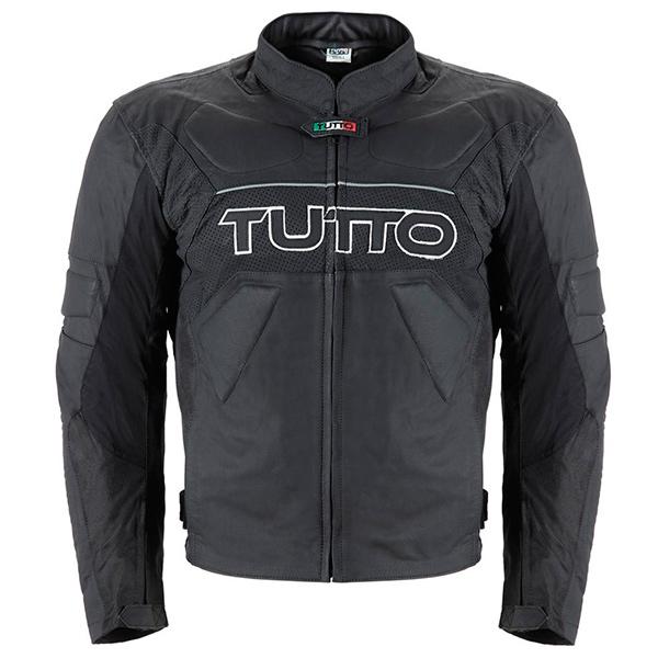 Jaqueta Tutto Tifon 2 Black Couro (Mais vendida)  - Nova Suzuki Motos e Acessórios