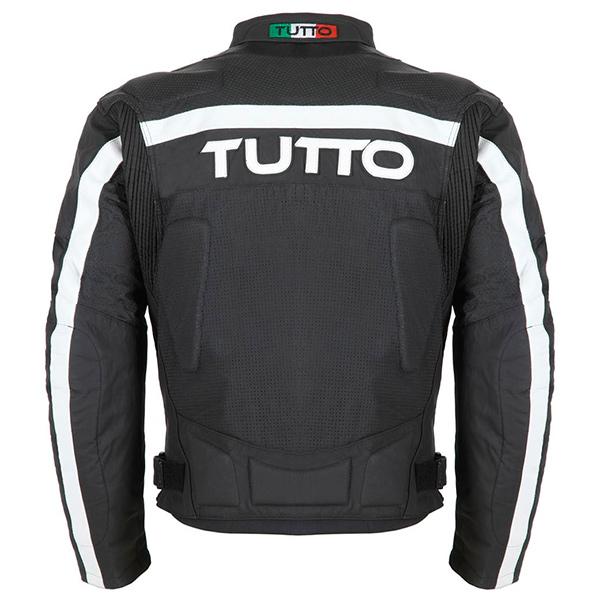 Jaqueta Tutto Tifon 2 Black Couro (Mais vendida) - Ganhe Caneca Tutto  - Nova Suzuki Motos e Acessórios