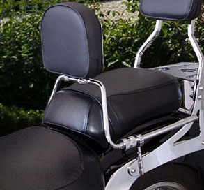 Encosto p/ Piloto Fmv p/ Suzuki Boulevard C1500  - Nova Suzuki Motos e Acessórios