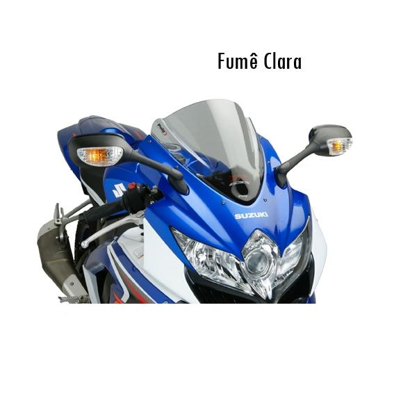 Bolha Puig Suzuki GSX R1000 - Fumê escuro  - Nova Suzuki Motos e Acessórios