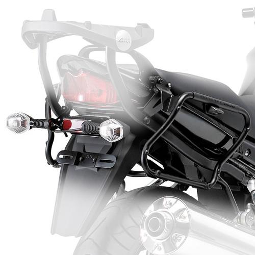Suporte lateral Givi V35 p/ 650F / Bandit 650/1250 07-11 (PLX539)  - Nova Suzuki Motos e Acessórios
