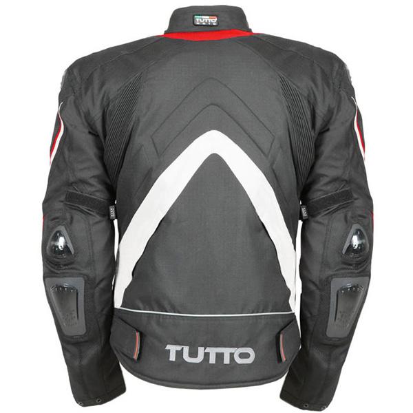 Jaqueta Tutto New Secca Vermelha  100% Impermeável  - Nova Suzuki Motos e Acessórios