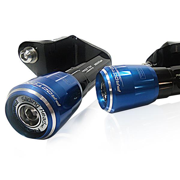 Slider Dianteiro Procton  com Amortecimento Haybusa 08-13  - Nova Suzuki Motos e Acessórios