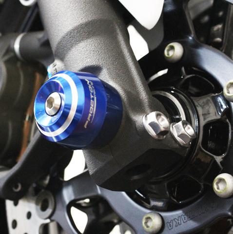 Slider de Roda Dianteira Procton p/ Honda / Suzuki / Kawa / BMW / Triumph  - Nova Suzuki Motos e Acessórios