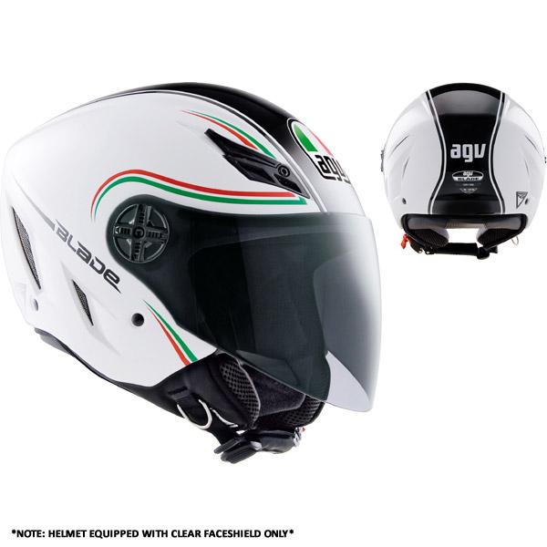Capacete AGV Blade Start Itália (Brilhante)  - Nova Suzuki Motos e Acessórios