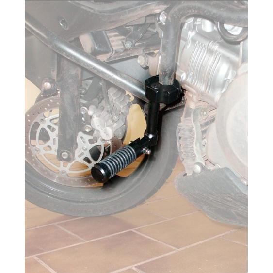 Pedaleira de Descanço Avançada Retrátil 25mm - Universal  - Nova Suzuki Motos e Acessórios