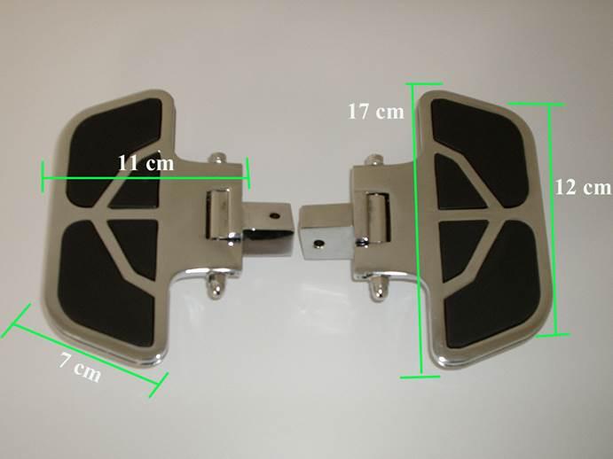 Plataforma Dianteira Mini FMV p/ Boulevard (escolha a moto)  - Nova Suzuki Motos e Acessórios