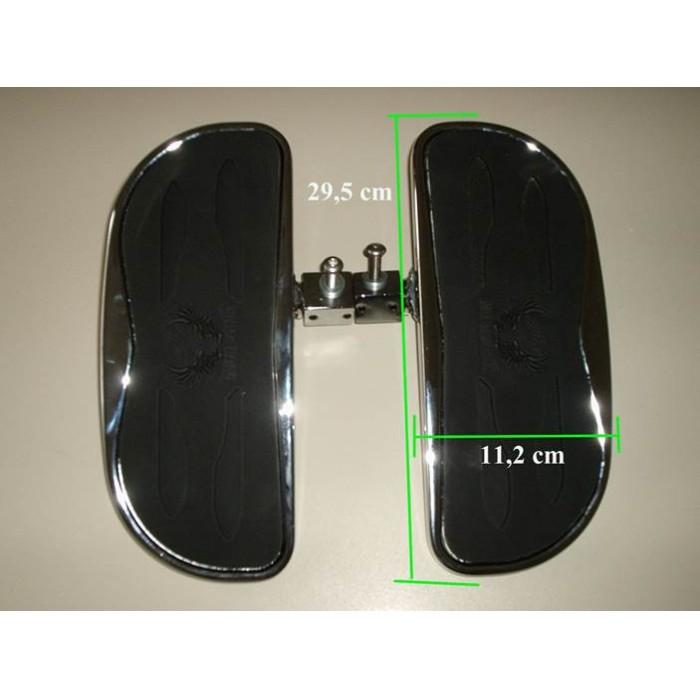 Plataforma Dianteira Nova FMV p/ Boulevard 800 e M800  - Nova Suzuki Motos e Acessórios
