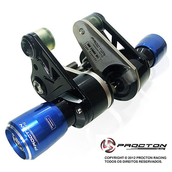 Slider Dianteiro Procton com Amortecimento p/ BMW S1000RR (12/14) Inoxx Support  - Nova Suzuki Motos e Acessórios