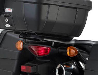 Base para baú Givi SR3101 (baús V46/V47/52/55 / Trekker) DL650 2014 - Pronta Entrega  - Nova Suzuki Motos e Acessórios