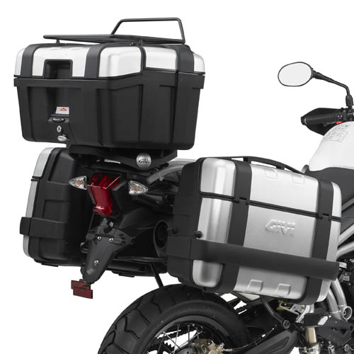 Suporte traseiro GIVI - SR6401 p/ Tiger 80011-14 Baús Import. V46/V47/E52/E55/TREKKER - Pronta Entrega  - Nova Suzuki Motos e Acessórios