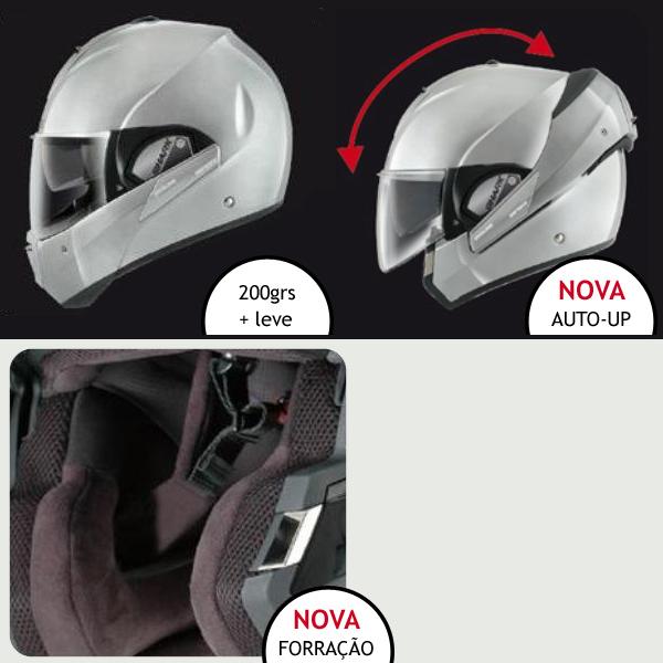 Capacete Shark Evoline Serie 3 Fusion WHU  - Nova Suzuki Motos e Acessórios