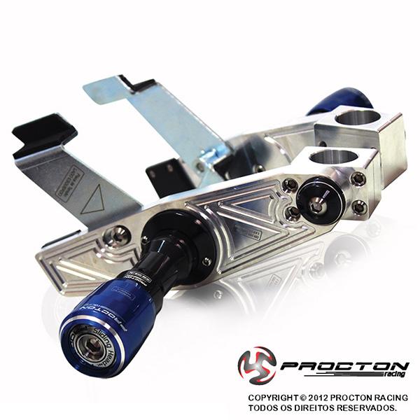 Slider Dianteiro Procton com Amortecimento p/ CBR 250R - 11/14  - Nova Suzuki Motos e Acessórios