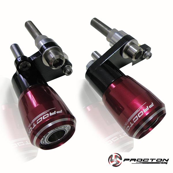 Slider Dianteiro Procton com Amortecimento p/ CBR 1000RR 06/07  - Nova Suzuki Motos e Acessórios