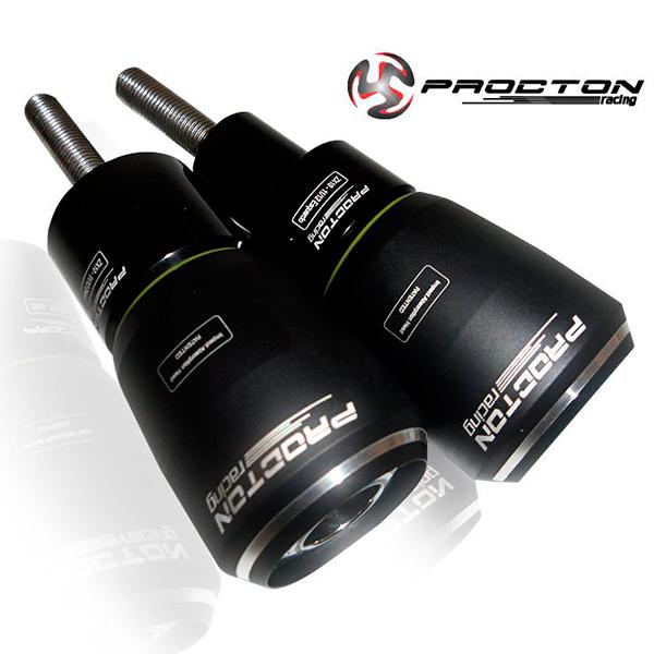 Slider Dianteiro Procton com Amortecimento p/ ZX10 09/10  - Nova Suzuki Motos e Acessórios