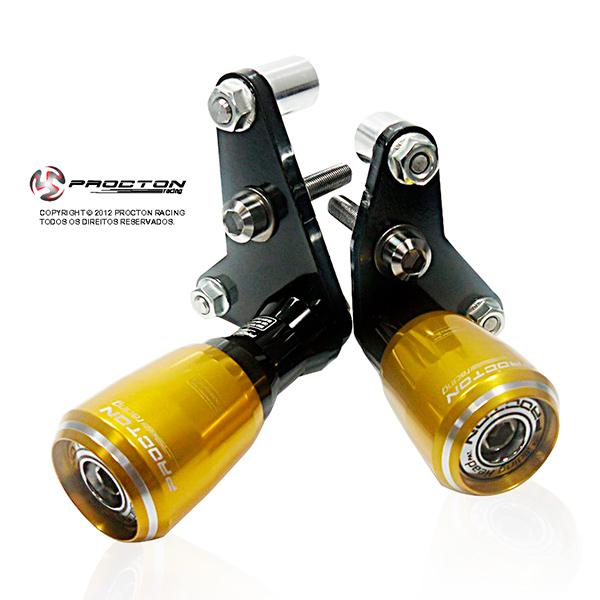 Slider Dianteiro Procton com Amortecimento p/ R6 08/14  - Nova Suzuki Motos e Acessórios