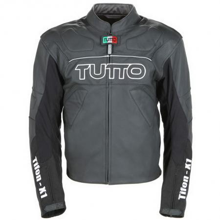Jaqueta Tutto Tifon X-1 Couro  - Nova Suzuki Motos e Acessórios