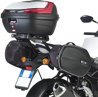 Suporte Lateral Givi TE3100 p/ Alforge Easylock (GSR 750 2014)  - Nova Suzuki Motos e Acessórios