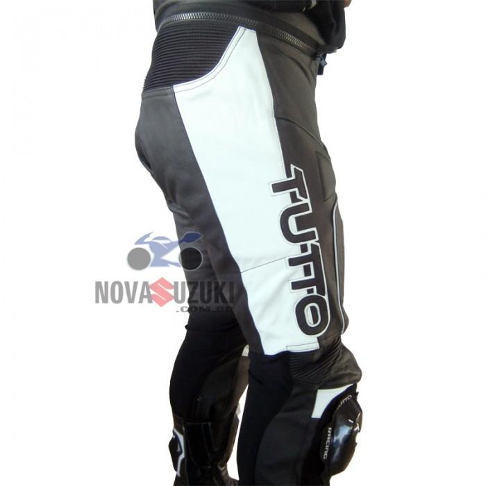 Calça Tutto Moto Tifon Couro (Mais vendida)  - Nova Suzuki Motos e Acessórios