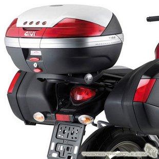 Suporte Givi p/ Baú Traseiro SR121/SR121M de Gladius - Pronta Entrega  - Nova Suzuki Motos e Acessórios