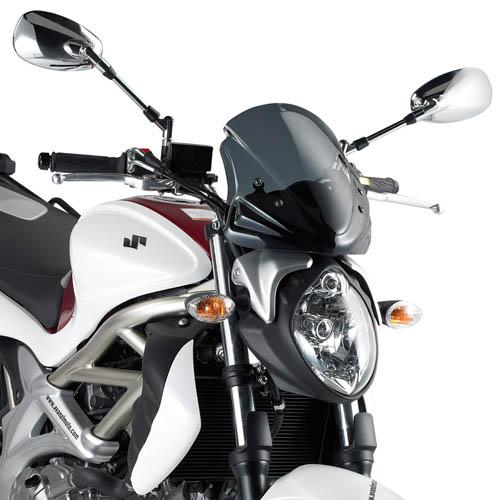 Parabrisa Givi A172 Fumê p/ Gladius 29,5 x 30,5 ( Sob encomenda de 07 a 10 dias )  - Nova Suzuki Motos e Acessórios