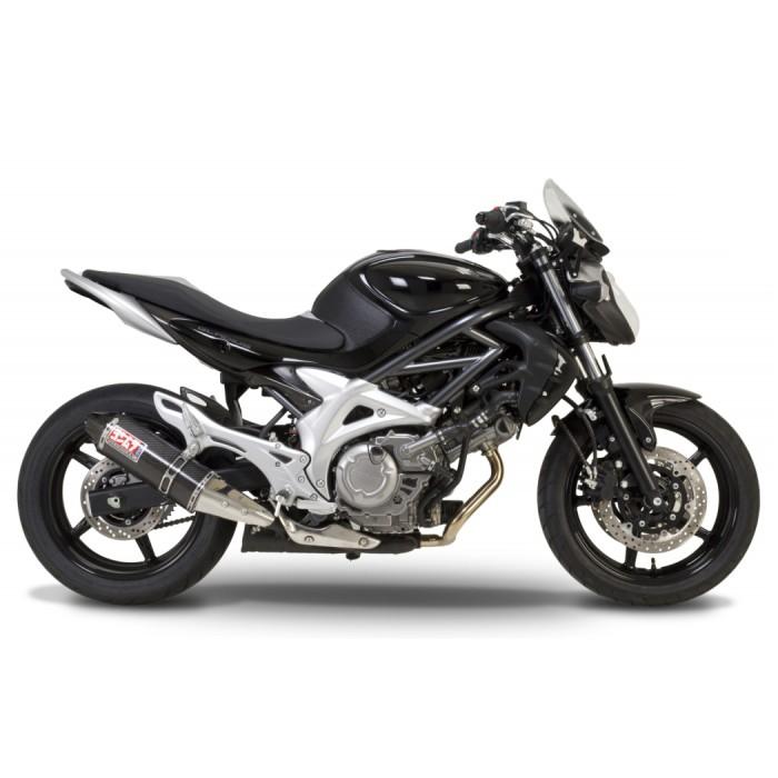 Ponteira Yoshimura TRC Carbono Suzuki Gladius (Slip-on Muffler)  - Nova Suzuki Motos e Acessórios