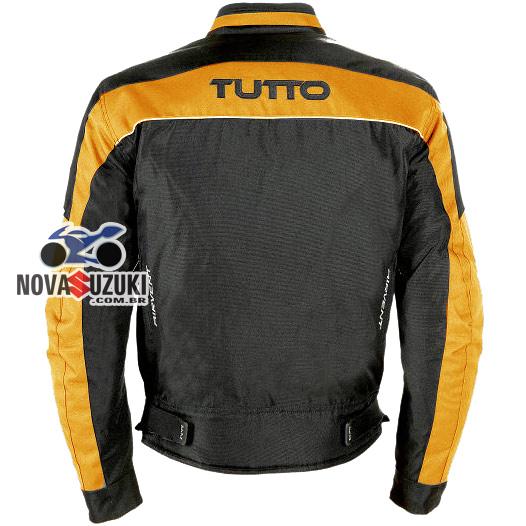 Jaqueta Tutto Fiber Laranja Impermeável  - Nova Suzuki Motos e Acessórios