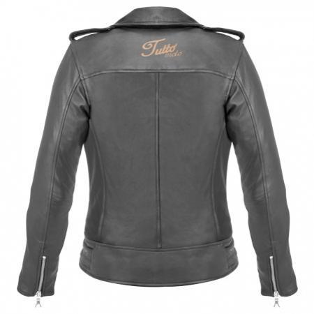 Jaqueta Tutto Moto Fashion Couro Lady Feminina - Ganhe Caneca Tutto  - Nova Suzuki Motos e Acessórios
