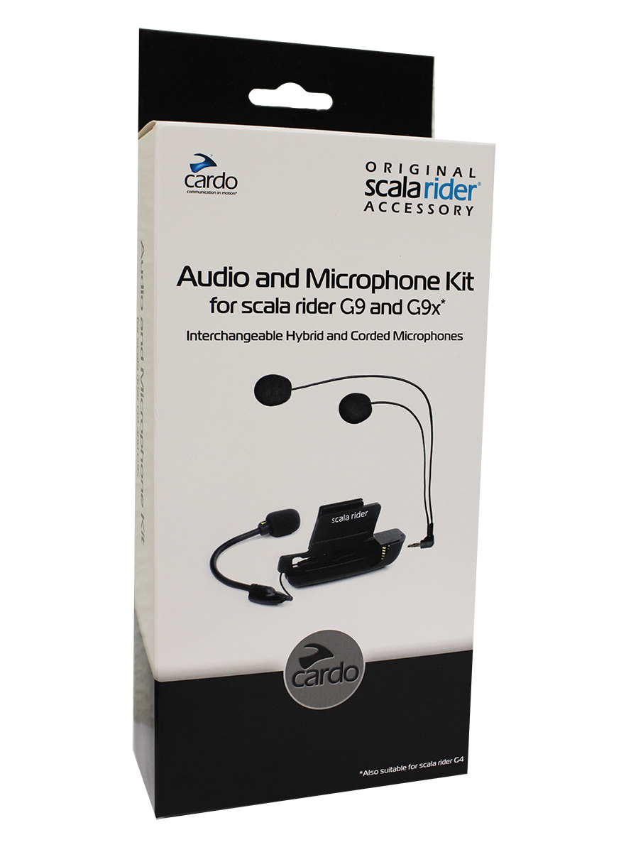Base Audio e Microphone Kit Cardo p/ G9/G9X  - Nova Suzuki Motos e Acessórios