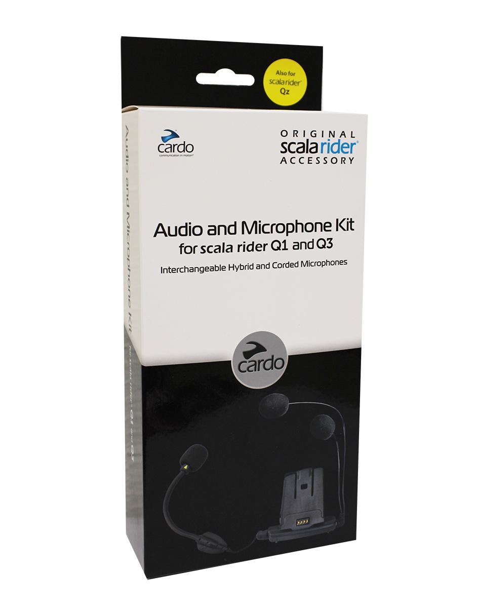 Base Audio e Microphone Kit Cardo p/ Q1 e Q3  - Nova Suzuki Motos e Acessórios