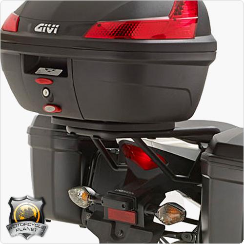Base para baú Givi SR1119 (baús V46 / 52 / Maxia 55 e outros) CB500F e CB500R 2015 - Baús Importados  - Nova Suzuki Motos e Acessórios