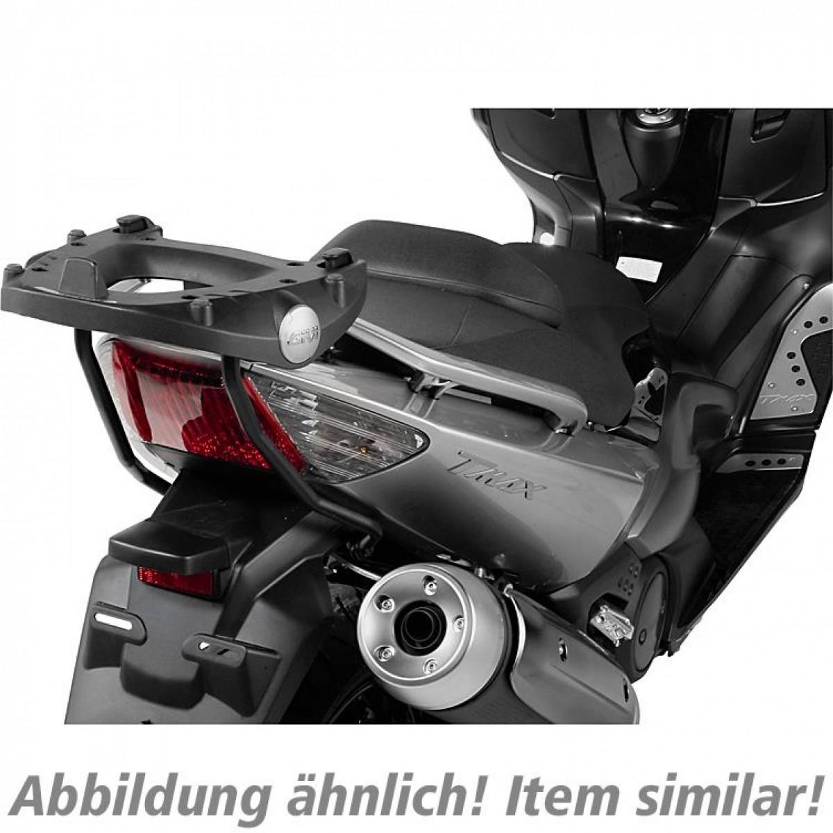 Base para baú Givi SR7051M (baús nacionais B47, E450, E470) Dafra Maxsym (acompanha base M-5M)  - Nova Suzuki Motos e Acessórios