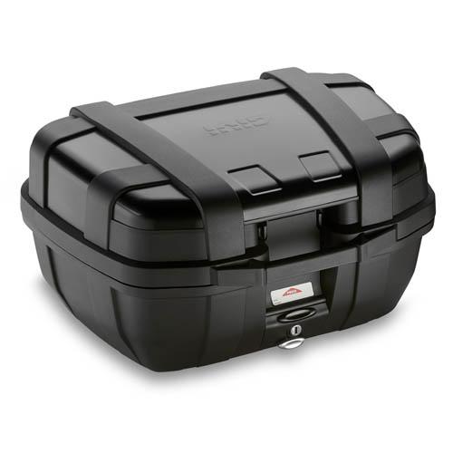 Baú Givi TREKKER ALUMINUM Black 52 LITROS Traseiro  - Nova Suzuki Motos e Acessórios