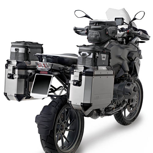 Baú Givi Trekker Outback 37 LITROS LATERAL Individual  - Nova Suzuki Motos e Acessórios