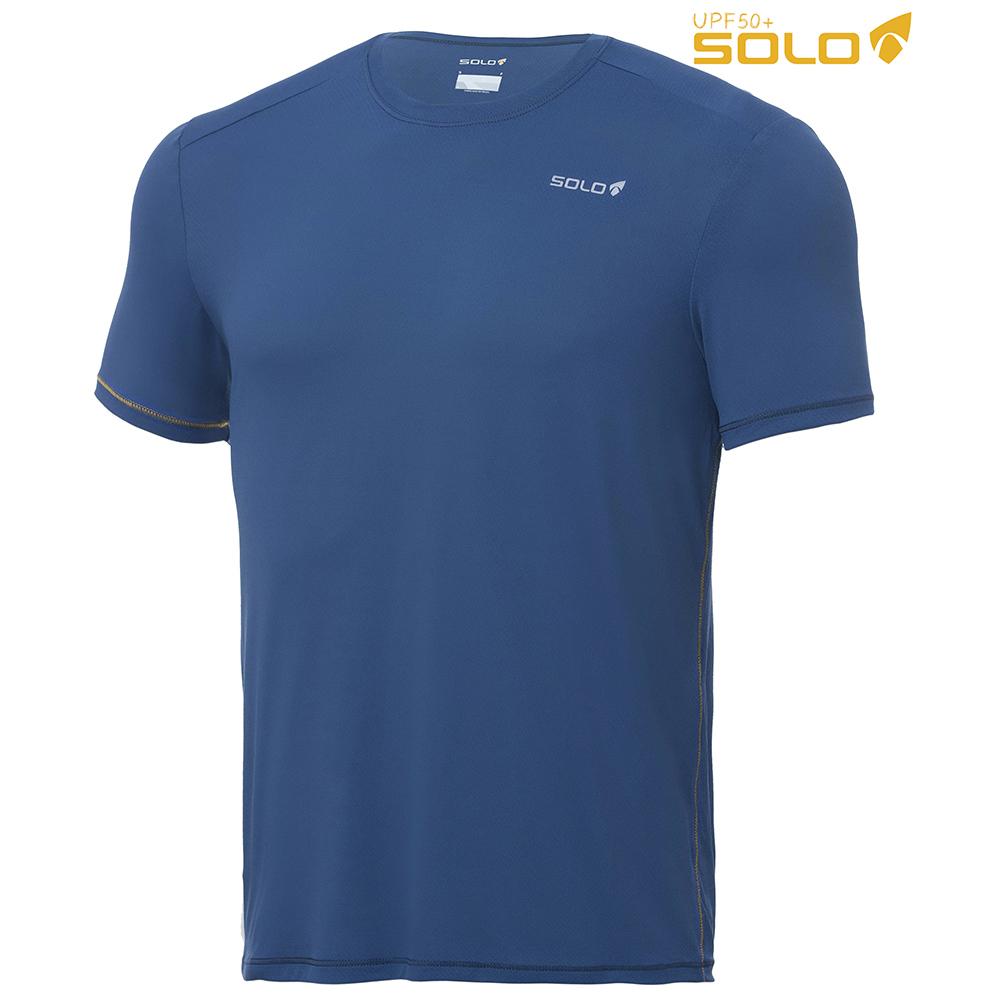 Camiseta Solo Ion UV Azul Escuro (Segunda Pele)  - Nova Suzuki Motos e Acessórios