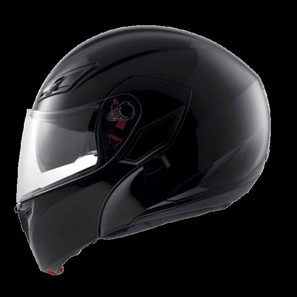Capacete AGV Compact MONO BLK Escamoteável - NOVO!  - Nova Suzuki Motos e Acessórios